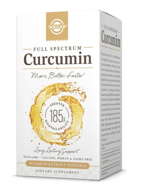 Solgar Curcumin, Full Spectrum, 30ct