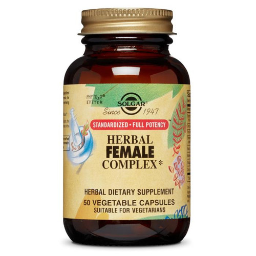 Solgar Herbal Female Complex, 50ct