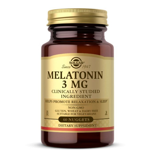 Solgar Melatonin 3mg, 60ct