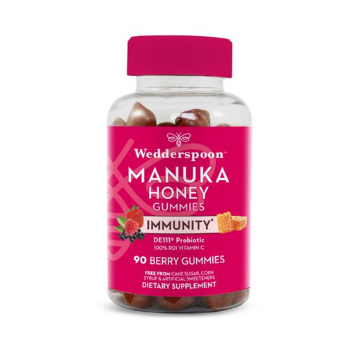 Wedderspoon Manuka Immunity Berry Gummies 90 ct