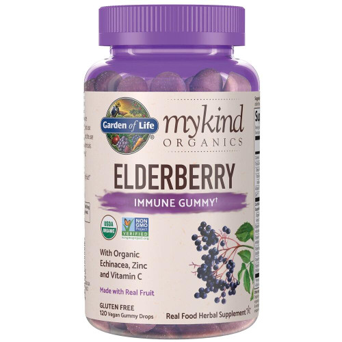 Garden Of Life Elderberry Immune Gummy, 120ct