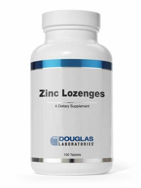 Douglas Laboratories Zinc Lozenges, 100ct Natural Orange Flavor