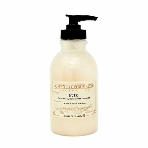 CO Bigelow Musk Hand Wash, 10.5oz No.2000