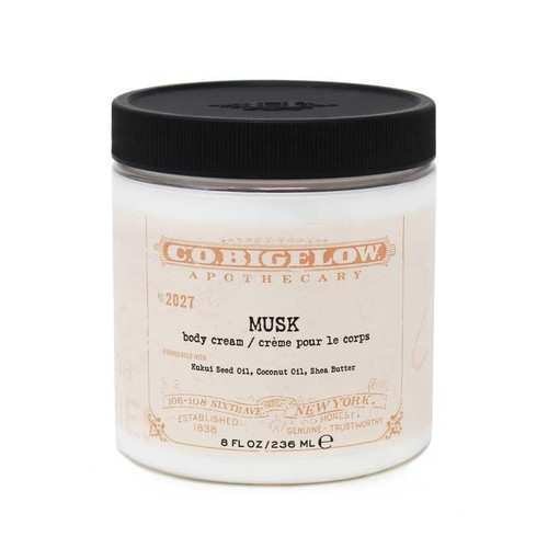 CO Bigelow Musk Body Cream, 8oz No.2027