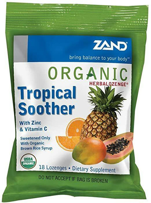 Zand HerbaLozenge Tropical 18ct