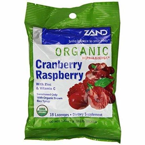 Zand HerbaLozenge Cranberry Raspberry 18ct
