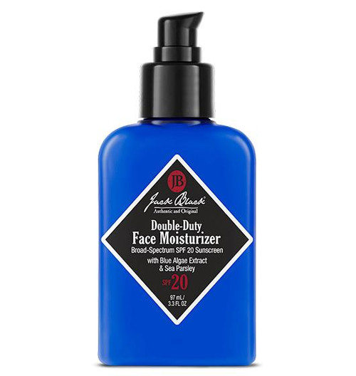 Jack Black Double Duty Face Moisturizer SPF 20, 3.3 oz