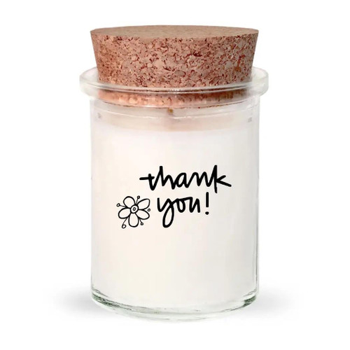 Seaglow Candles Thank you - Apricot Soy Candle