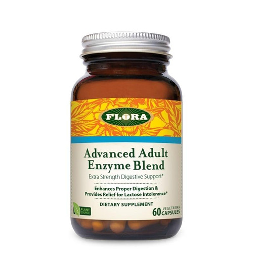 Flora Health Advanced Adult Enzyme 60 Caps
