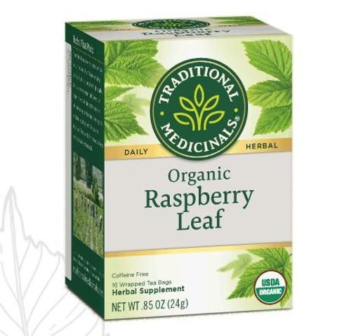 Traditional Medicinals Organic Raspberry Leaf Tea, 16 Bags