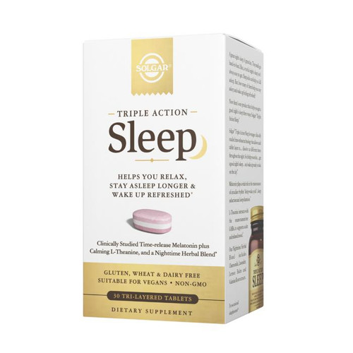 Solgar Triple Action Sleep 30ctTablets