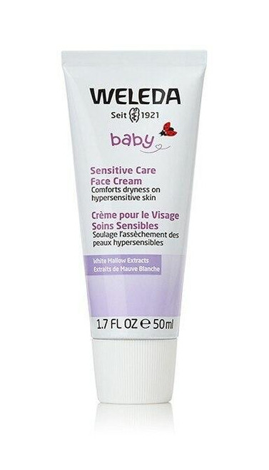 Weleda Baby Sensitive Care Face Cream, 1.7oz