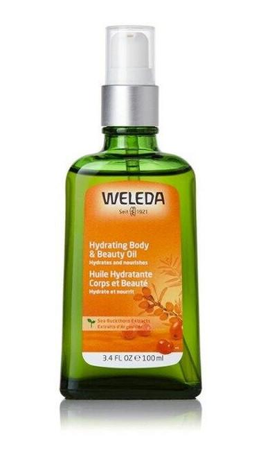 Weleda Hydrating Body and Beauty Oil, 3.4 fl oz