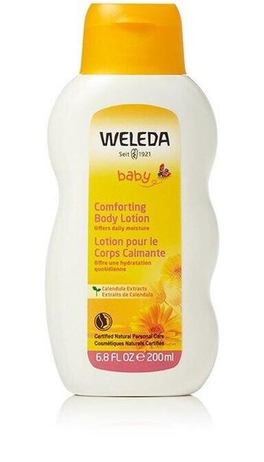 Weleda Comforting Baby Body Lotion, 6,8 fl oz