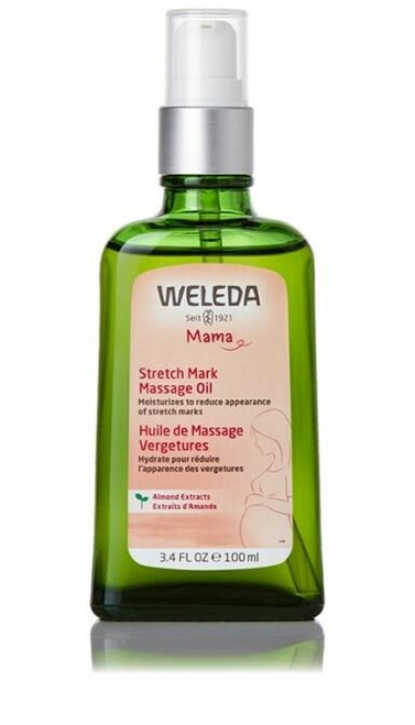 Weleda Stretch Mark Massage Oil 3.4oz