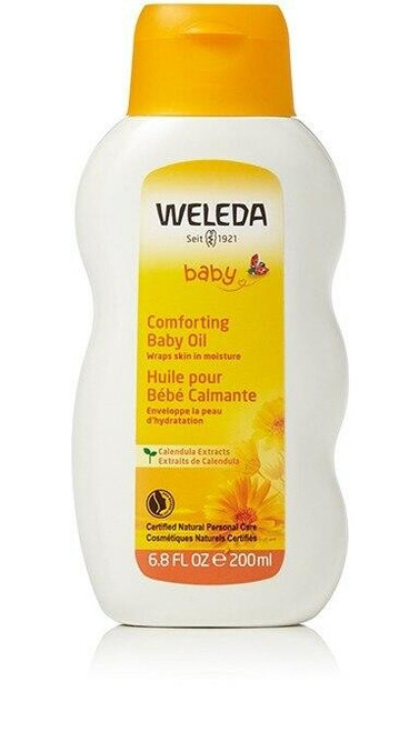 Weleda Comforting Baby Oil 6.8oz With Calendula