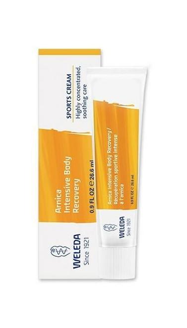 Weleda Arnica Intensive Body Recovery Sports Cream, 0.9 fl oz