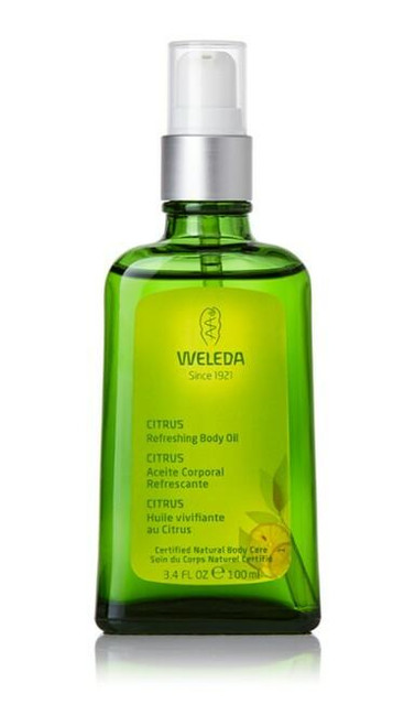 Weleda Refreshing Body and Beauty Oil, 3.4 fl oz