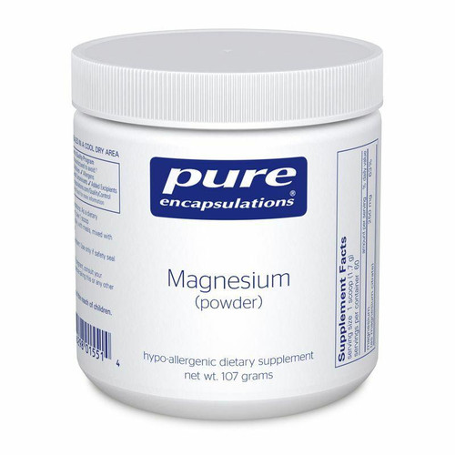 Pure Encapsulations Magnesium Powder 107 GM