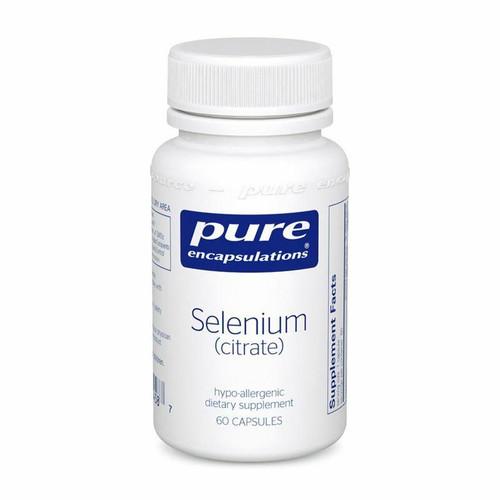 Pure Encapsulations Selenium Citrate 60s