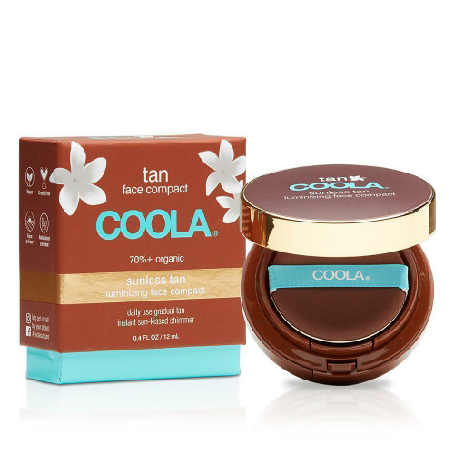 Coola Sunless Tan Luminizing Face Compact 12ml