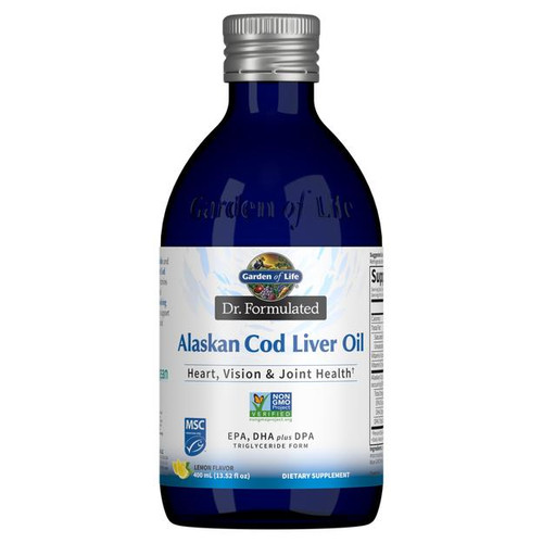 Garden Of Life Alaskan Cod Liver Oil 400ml Liquid