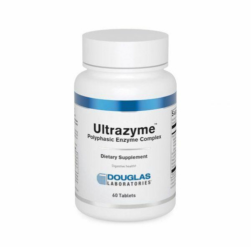 Douglas Laboratories Ultrazyme 60Tab Polyphasic Enzyme Complex
