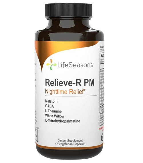 LifeSeasons Relieve-R PM, Nighttime Relieve 46ct
