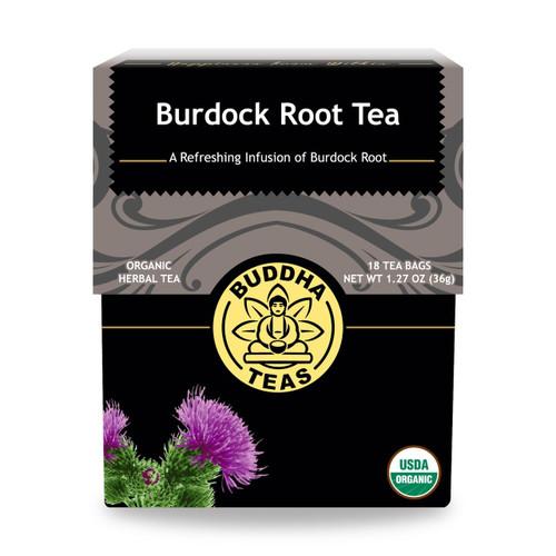 Buddha Teas Burdock Root Tea, 18 Bags, Organic