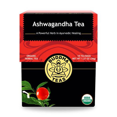 Buddha Teas Ashwagandha Tea,18 Bags, Organic