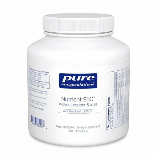 Pure Encapsulations Nutrient 950 w/o copper and iron, 90 caps