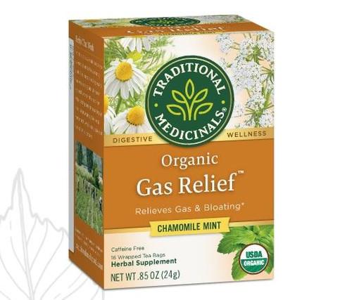 Traditional Medicinals Gas Relief Tea, Organic