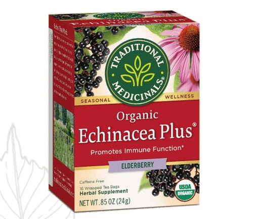 Traditional Medicinals Echinacea Plus Elderberry Tea
