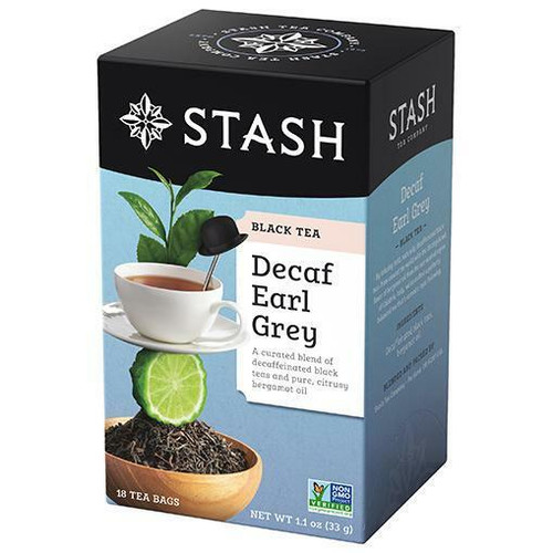 Stash Tea Company Decaf Earl Grey, 18 Bags