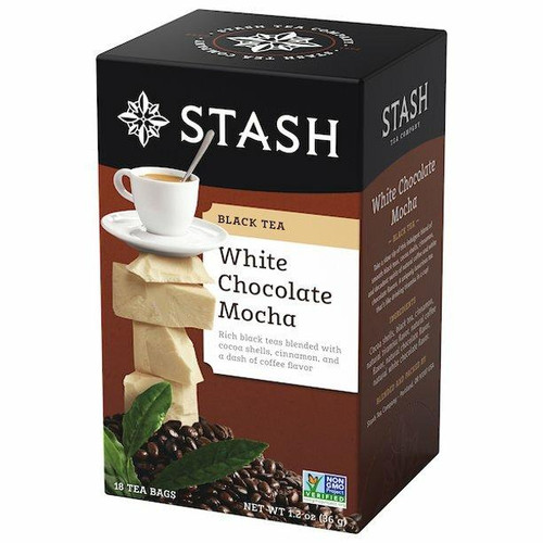 Stash Tea Company White Chocolate Mocha Black Tea 18 Bags