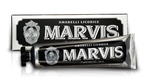 Marvis Amarelli Licorice Mint Toothpaste 75ml