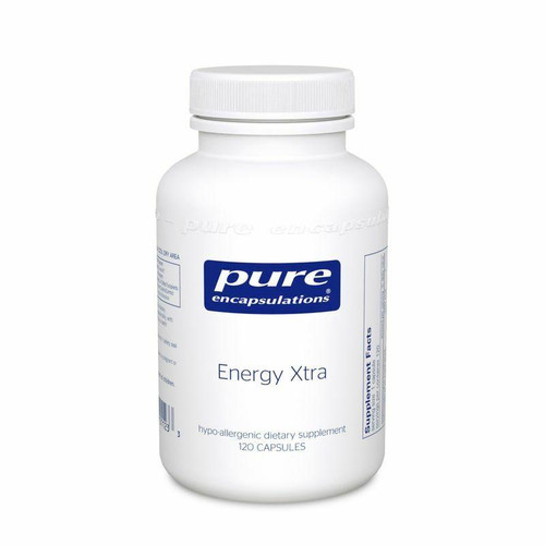 Pure Encapsulations Energy Xtra 120ct