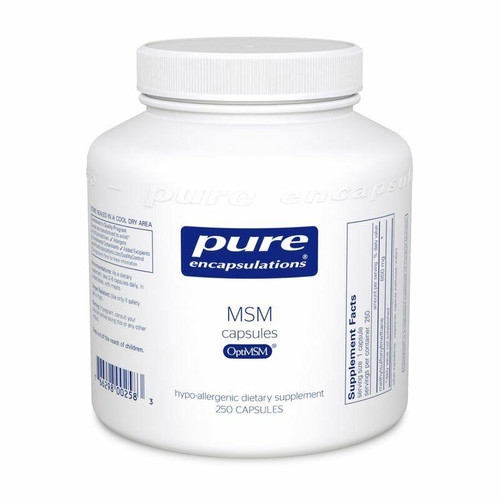 Pure Encapsulations MSM Capsules 250ct
