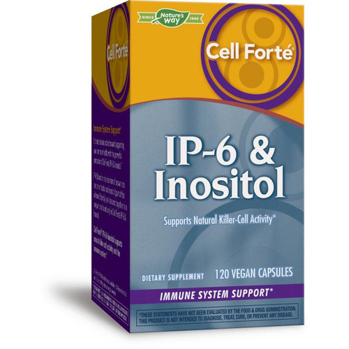 Natures Way IP-6 and Inositol, 120 veg caps