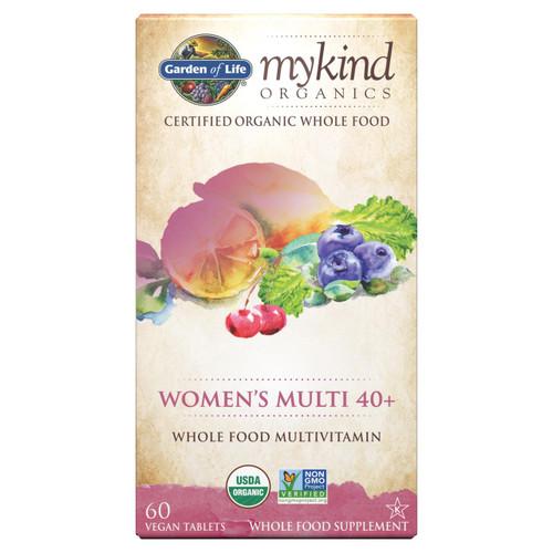Garden Of Life Womens Multi 40, 60 vegan tabs