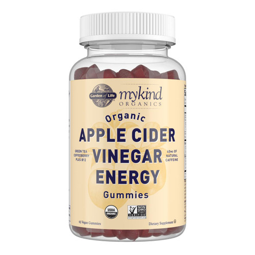 Garden Of Life Apple Cider Vinegar Energy, 63 vegan gummies