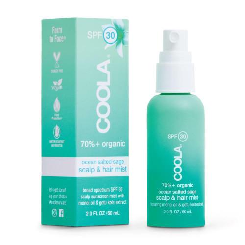 Coola Organic Scalp Mist, SPF30, 2oz