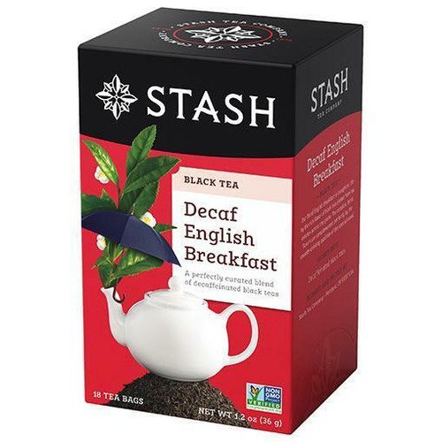 Stash Tea Decaf English Breakfast, 18 Bags