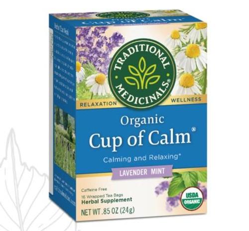 Traditional Medicinals Cup of Calm Organic Tea, 16 Bags