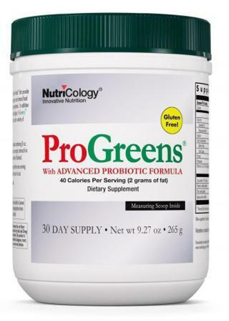 Nutricology Pro Greens 30 days
