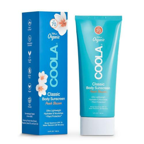 Coola Classic Body Sunscreen Peach Blossom SPF70 5oz