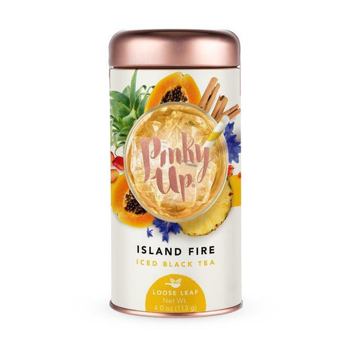Pinky Up Island Fire Iced Tea, loose-leaf, 4 oz