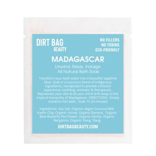 Dirt Bag Beauty Madagascar Organic Bath Soak, single use
