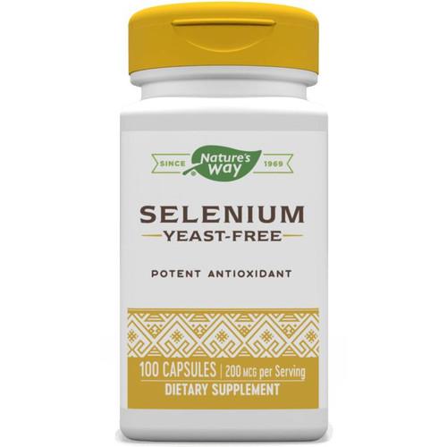 Natures Way Selenium Cap, 100ct