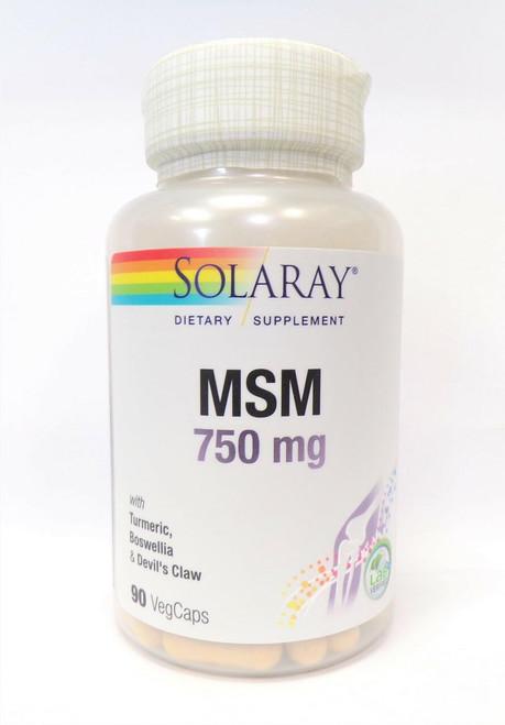 Solaray MSM 90ct 750mg